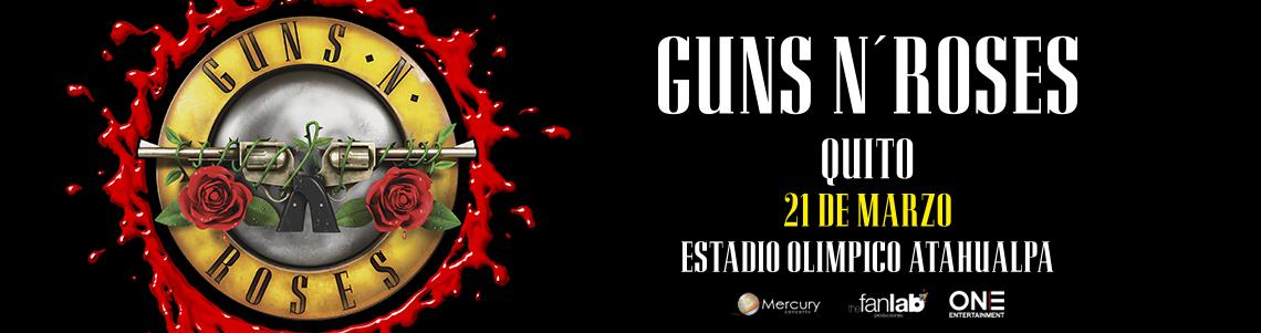 guns n roses | ecuador | entradas | Joinnus
