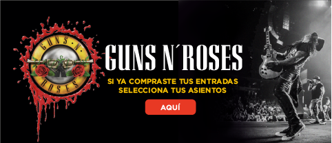 Guns n Roses en Quito - Joinnus - Banner
