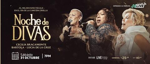 Noche de Divas - Cecilia Bracamonte - Bartola - Lu