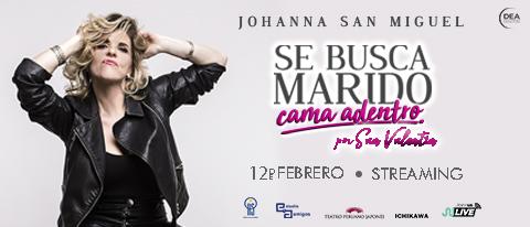 Johanna San Miguel - Se busca Marido Cama dentro -