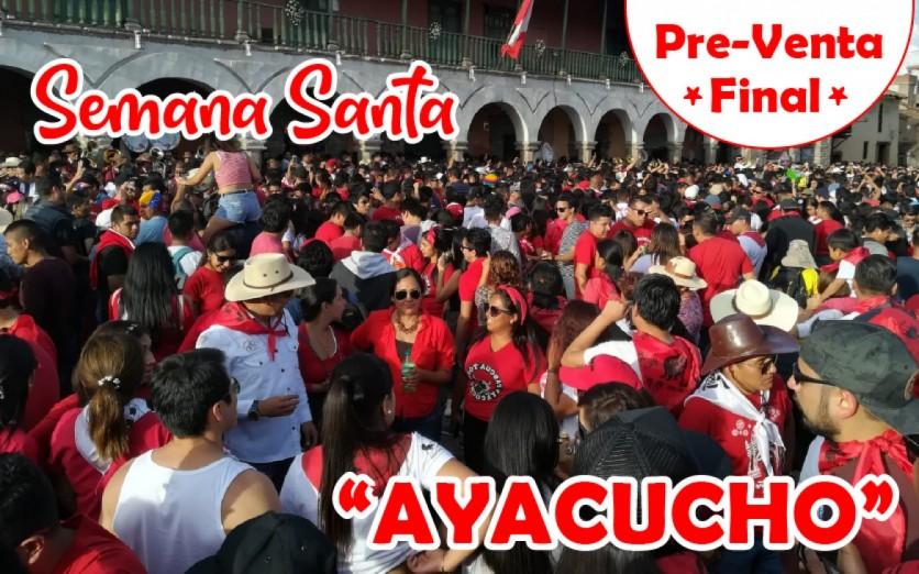 """EVENTO ANULADO"" Semana Santa - Ayacucho 2020"