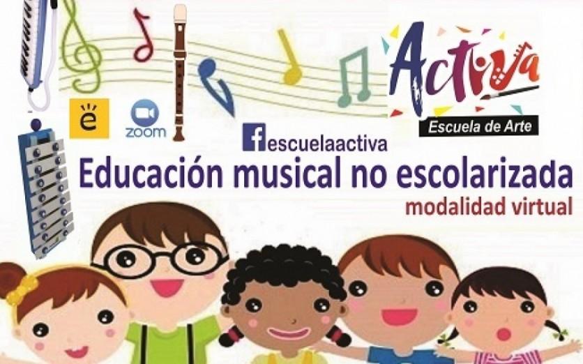 Educación musical ONLINE para niños