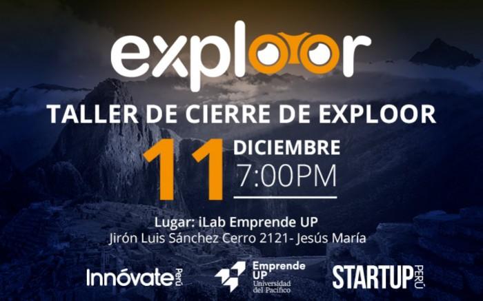 TALLER DE CIERRE: Exploor