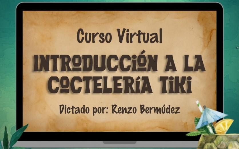Curso Virtual - Introducción a la Coctelería Tiki