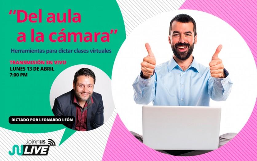 """DEL AULA A LA CÁMARA"" TALLER PARA DOCENTES"