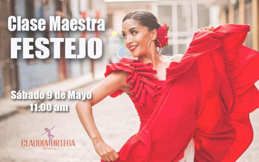 Clase Maestra Online de Festejo