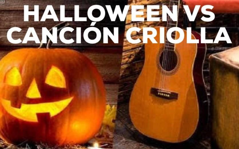 Fiesta de Halloween vs. Canción Criolla