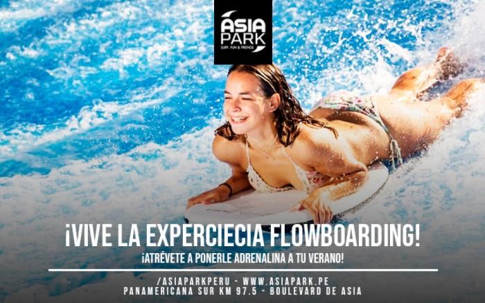 ¡Vive la experiecia Flowboarding en ASIAPARK!