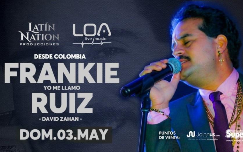 Frankie Ruiz en Chiclayo por David Zahan