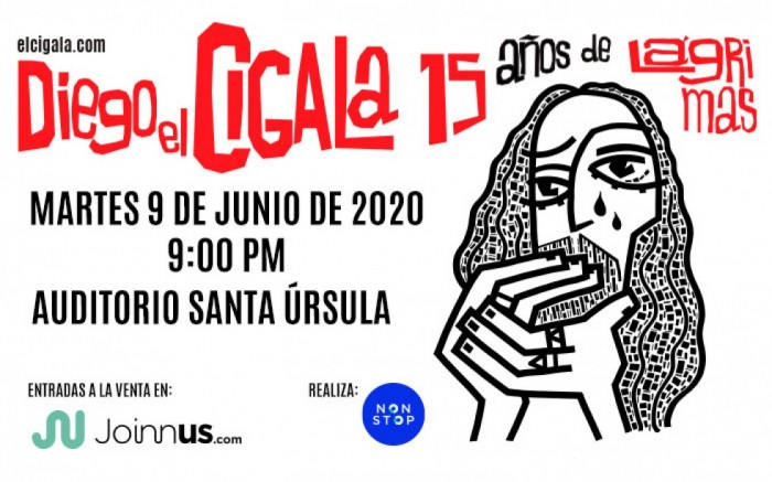 DIEGO EL CIGALA 15 AÑOS DE LÁGRIMAS