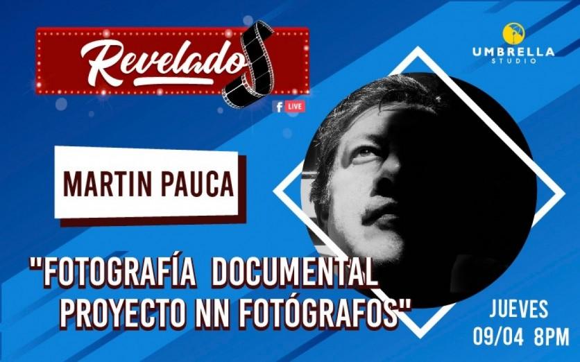 Entrevista ONLINE #Revelados Live ! con Martin Pauca