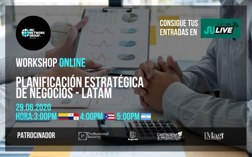 WORKSHOP | PLANIFICACIÓN ESTRATÉGICA DE NEGOCIOS  IBC LATAM