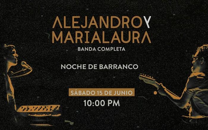 Alejandro y Maria Laura en La Noche de Barranco