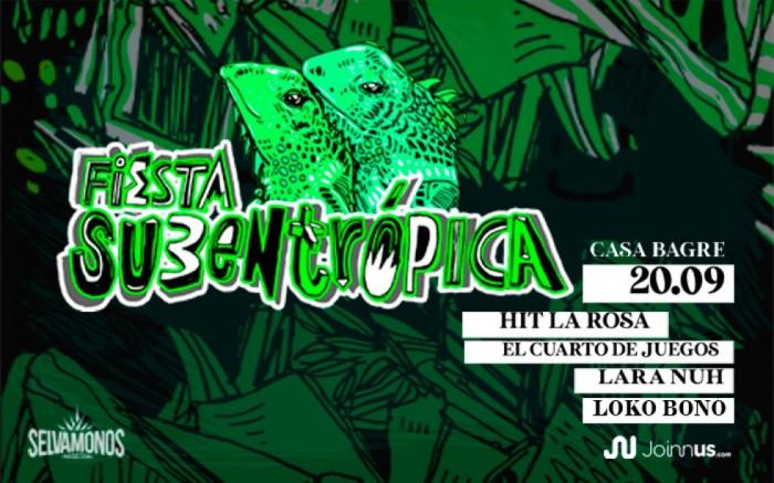 Fiesta Subentropica | Hit La Rosa
