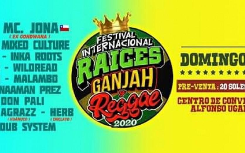 "FESTIVAL INTERNACIONAL "" REGGAE 2020"""