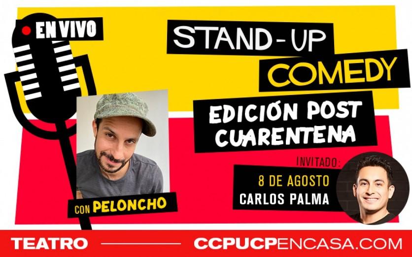 STAND UP COMEDY - EDICIÓN POST CUARENTENA
