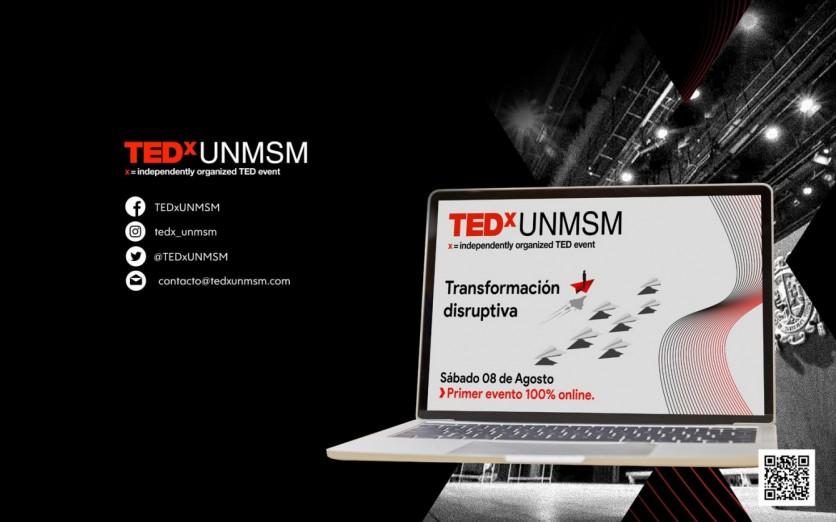 TEDx UNMSM: Tranformación disruptiva