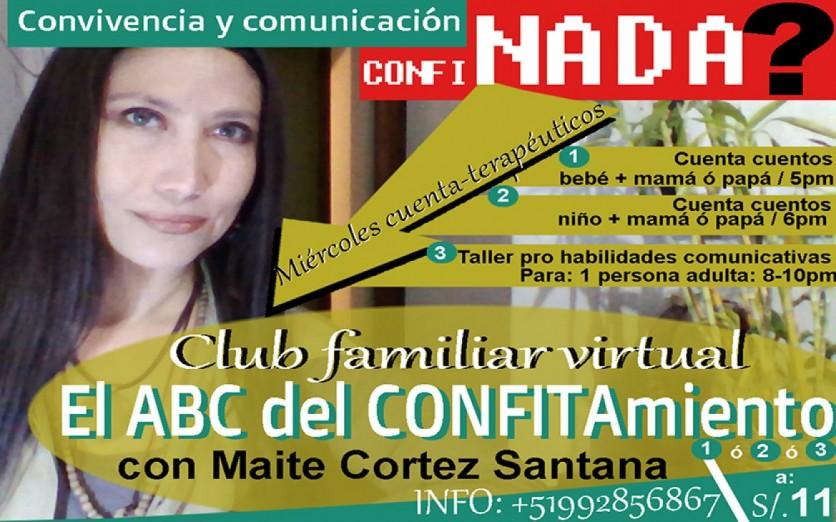 El ABC del CONFITAmiento. Miércoles cuenterapéuticos/Adultxs