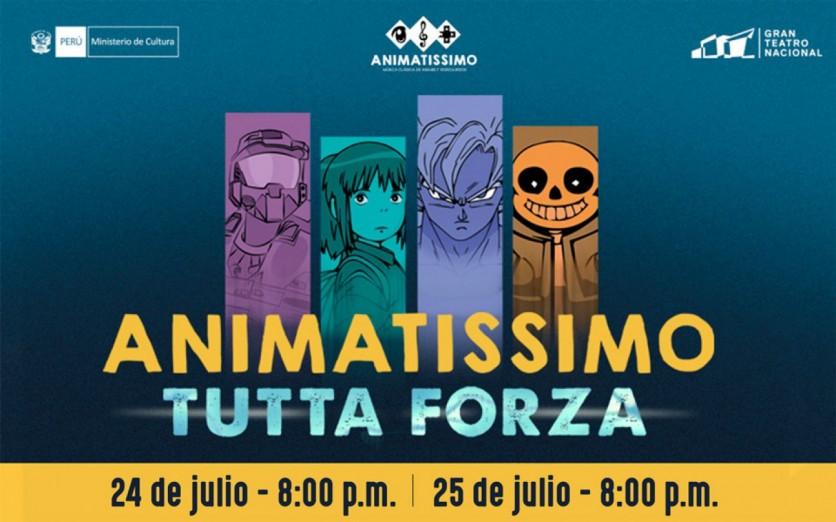 Animatissimo: Tutta Forza - Gran Teatro Nacional