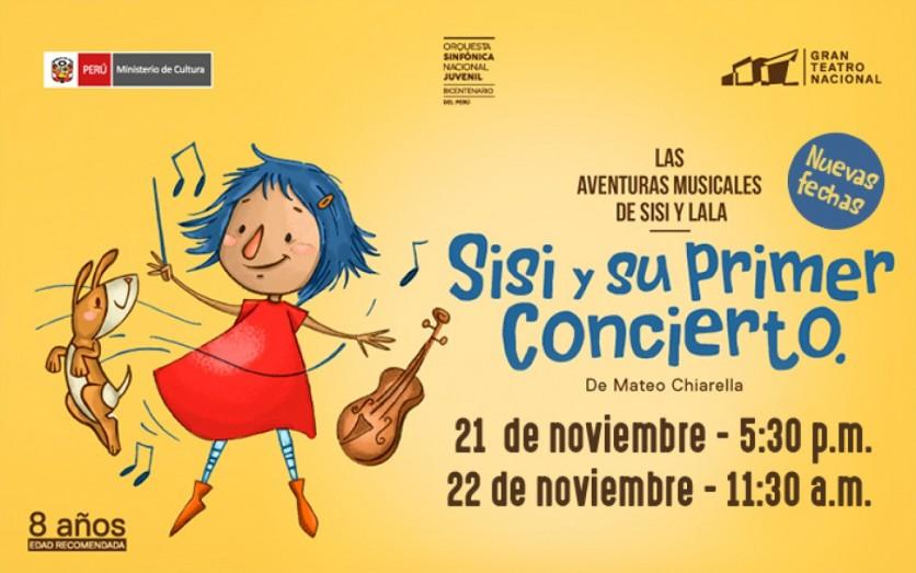 Sisi y su primer concierto - Gran Teatro Nacional