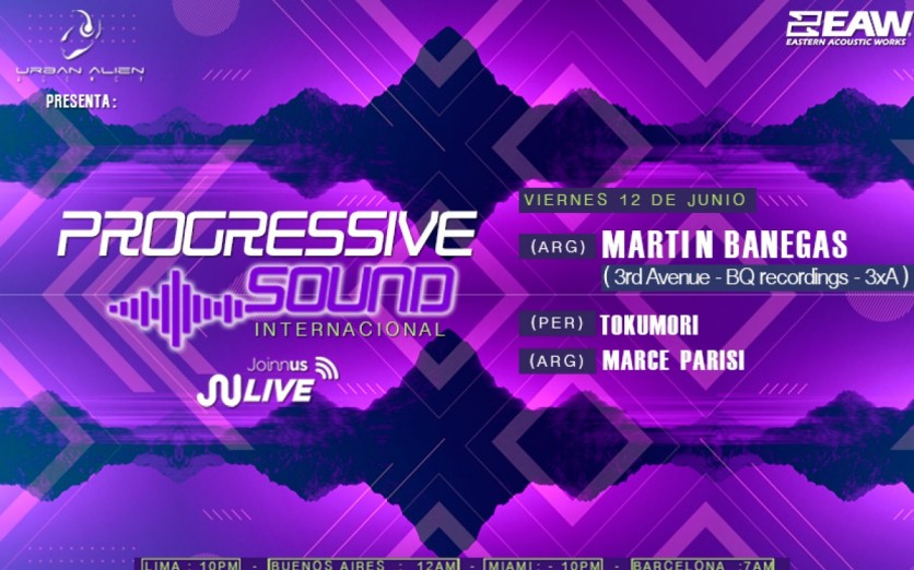 Progressive Sounds (Live Internacional)