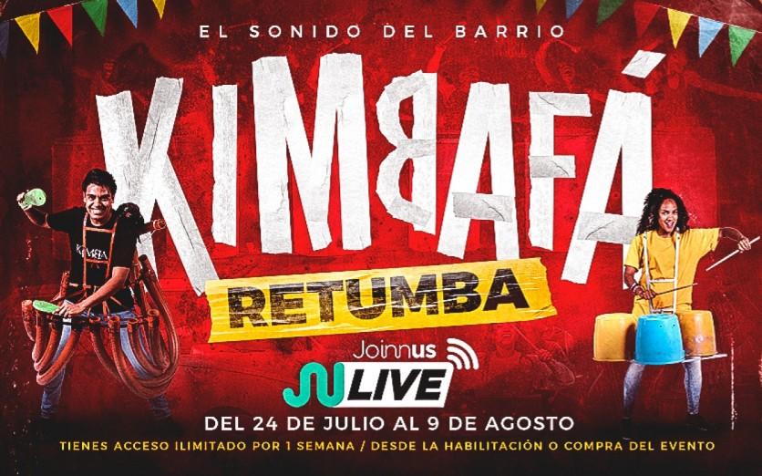 Kimba Fá presenta RETUMBA