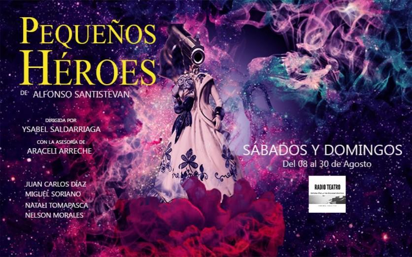 PEQUEÑOS HÉROES de Alfonso Santistevan