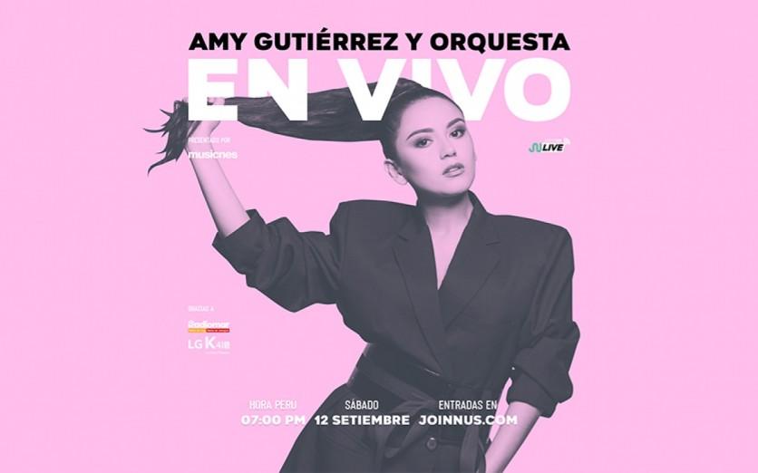 Amy Gutiérrez y orquesta EN VIVO