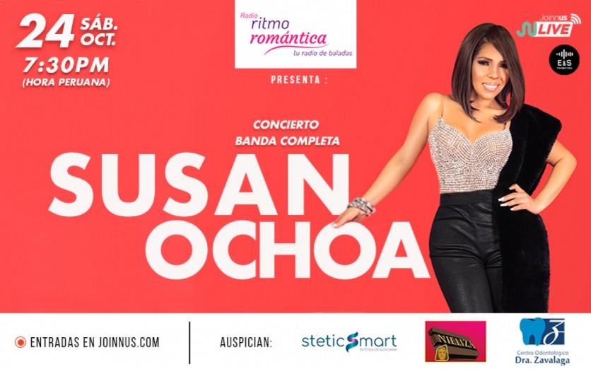 SUSAN OCHOA – CONCIERTO VIRTUAL