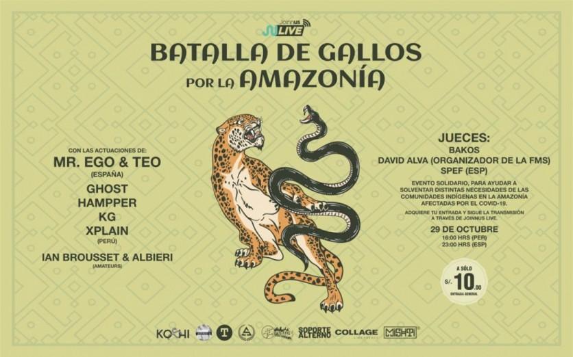 Batalla de Gallos por la Amazonía