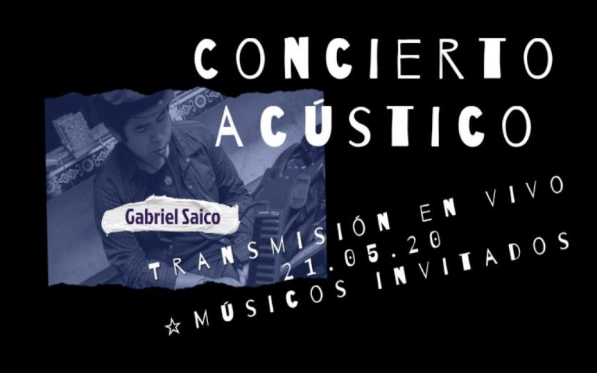 Gabriel Saico - Concierto Acústico