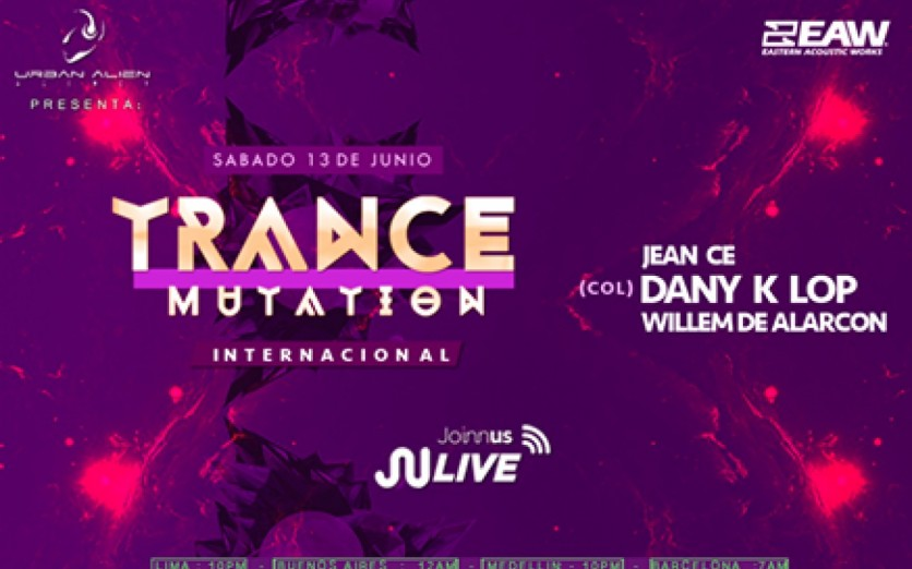 Trancemutation live internacional