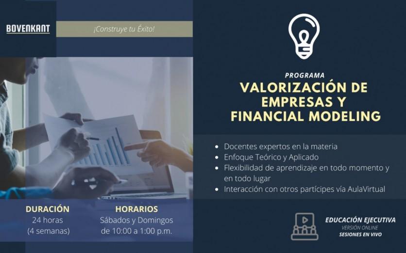 Valorización de Empresas y Financial Modeling