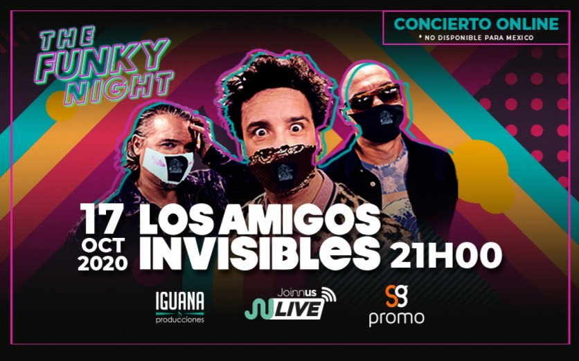 THE FUNKY NIGHT - LOS AMIGOS INVISIBLES