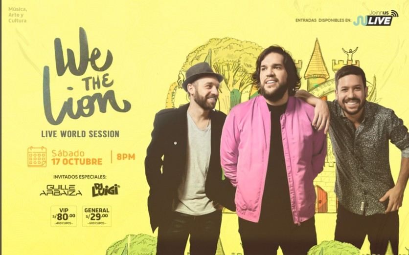 "WE THE LION ""Live World Session"""