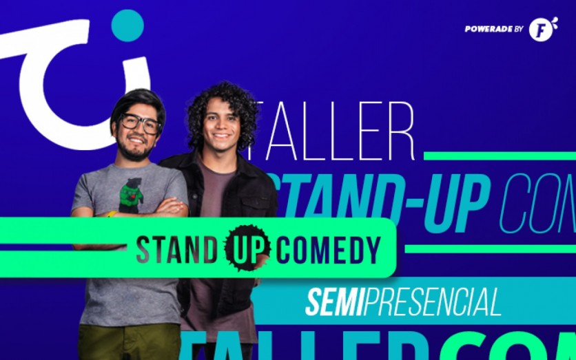 Taller Semipresencial de Stand-up Comedy