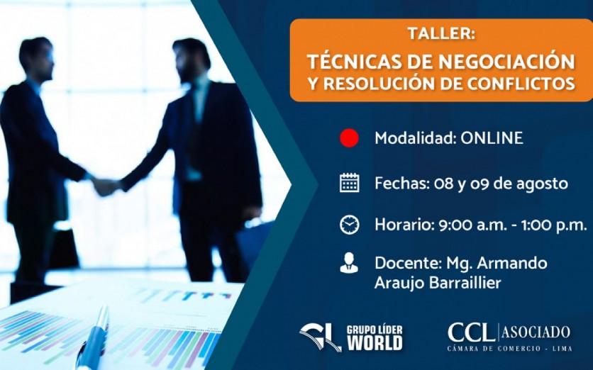 Taller: Técnicas de Negociación y Resolución de Conflictos