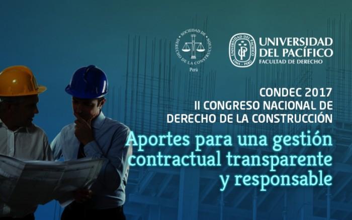 II Congreso Nacional de Derecho de la Construcción - CONDEC