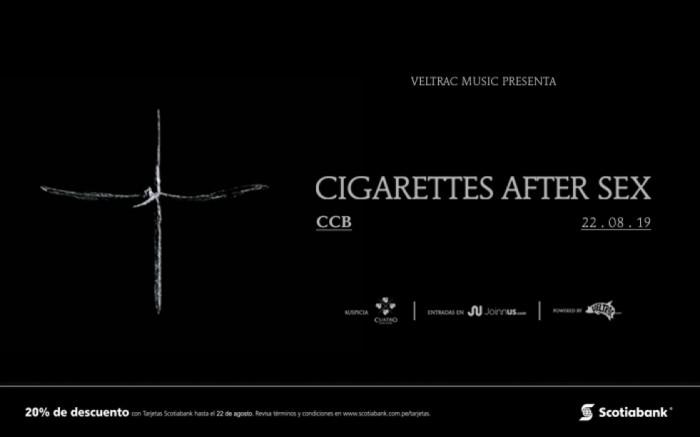 Cigarettes After Sex en Lima
