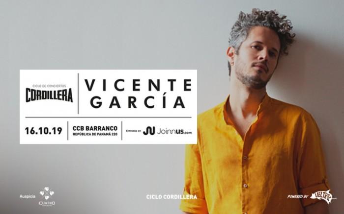 Ciclo Cordillera: Vicente García en Lima 2019