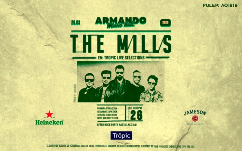 Tropic live selections presenta: The Mills
