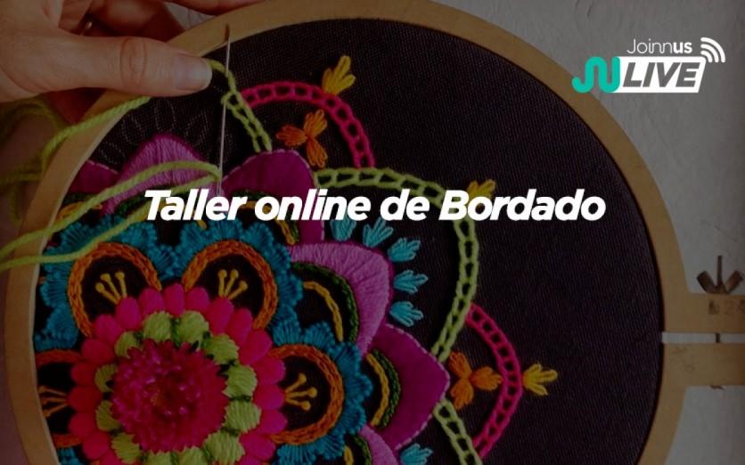 Taller online de Bordado