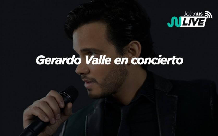 Gerardo Valle en concierto