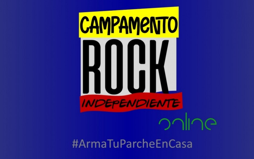 Campamento rock independiente on line