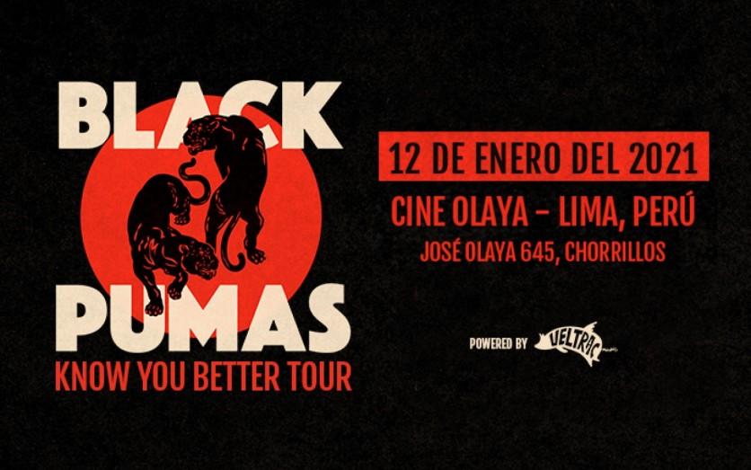 Black Pumas en Lima