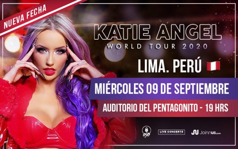 Katie Angel - Invencible World Tour 2020