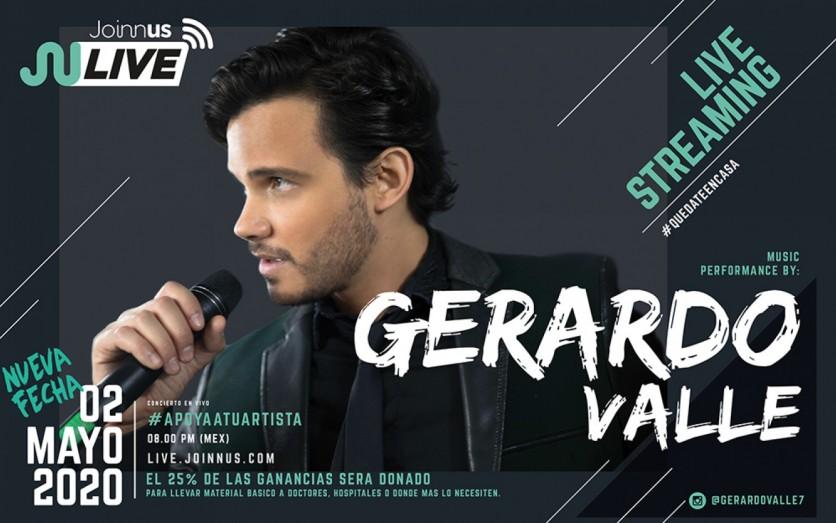 Gerardo Valle en Vivo