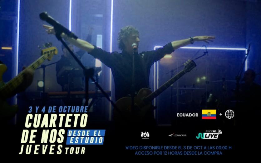 """Cuarteto de Nos - """"Jueves Tour desde el Estudio"""""""