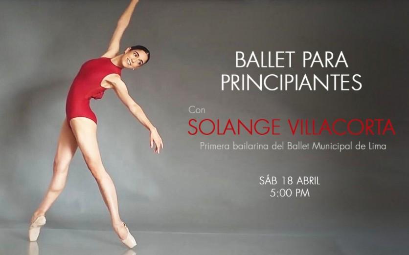 Ballet para Principiantes con Solange Villacorta