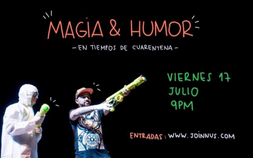 Magia y Humor con PLOMO